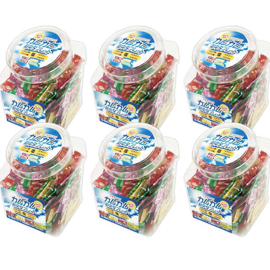 【お買い得6個パック】カムカム熱中タブレット~暑い季節にすばやく塩分補給~