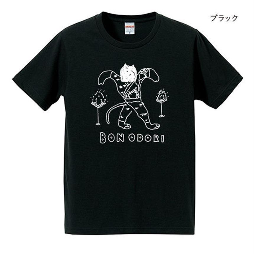 BON ODORI T-shirts  /ブラック