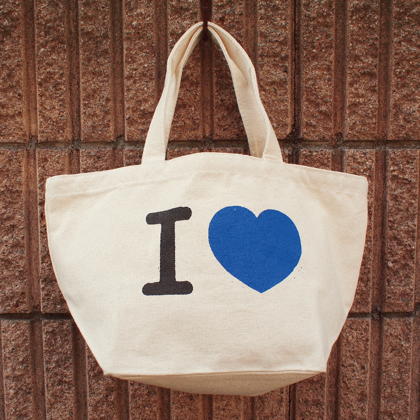 "MINI TOTO BAG  "" I LOVE NYAON """