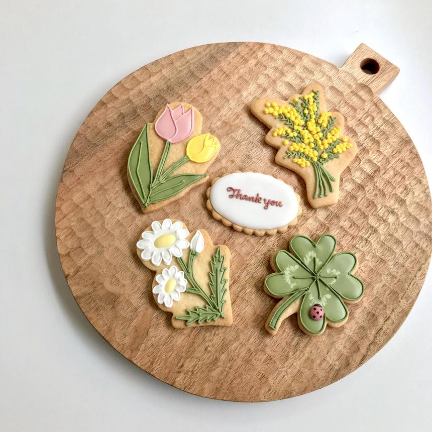 想いつたえる春の草花