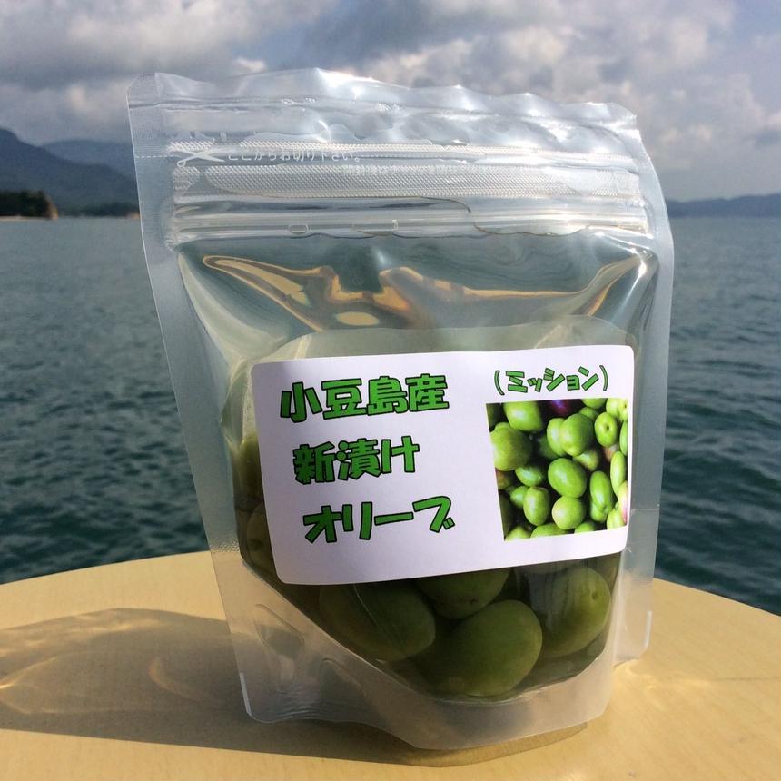 小豆島産オリーブの新漬け (品種ミッション)