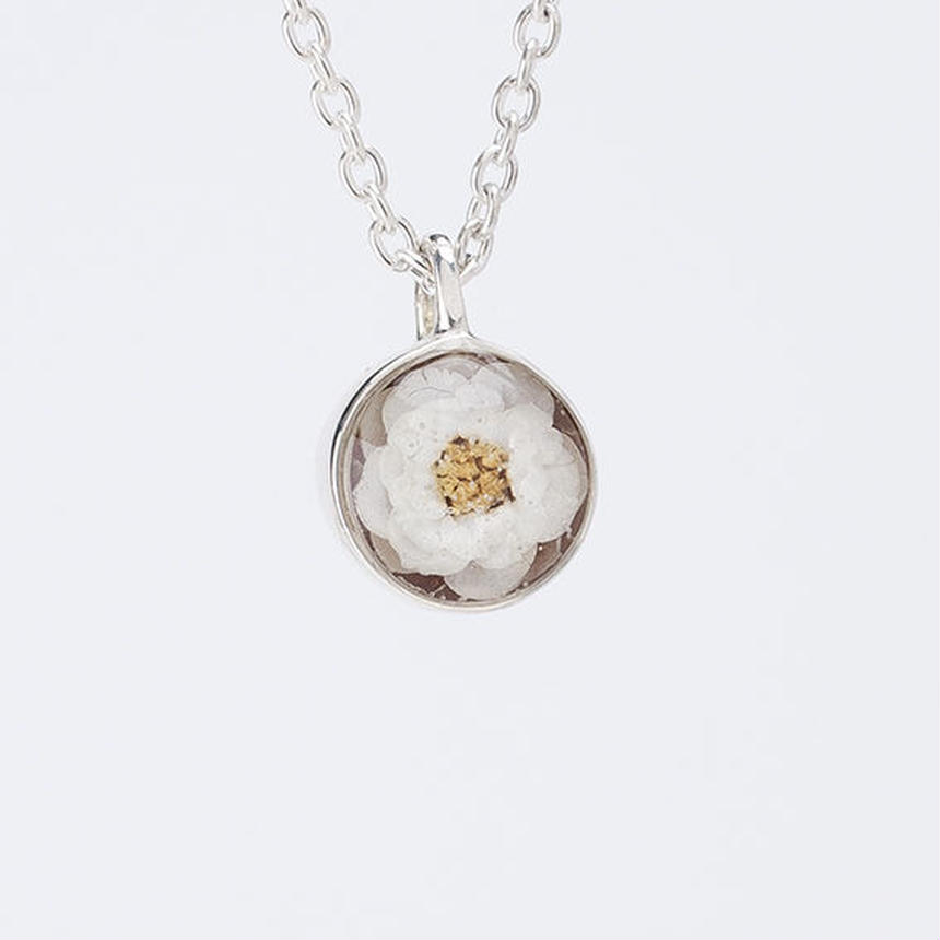 Viburnum Necklace Silver  (38cm)