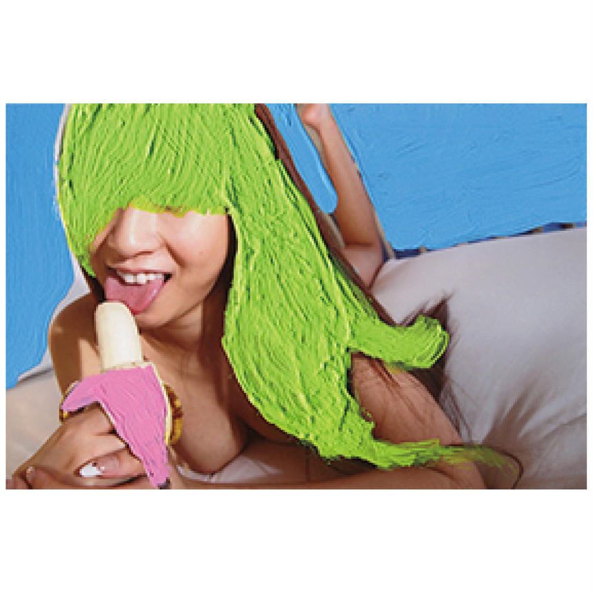 !!NEW!!【103】YELLOWISH HAIR AND BANANA OF PINK SKIN