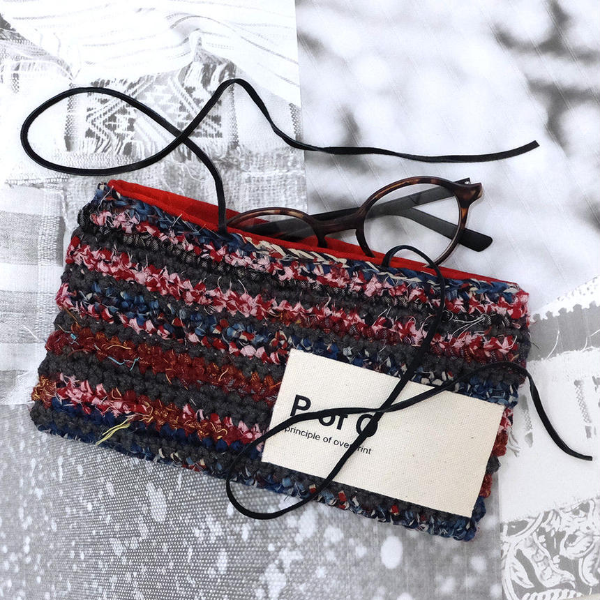 chilk Pouch (Red)【10103】