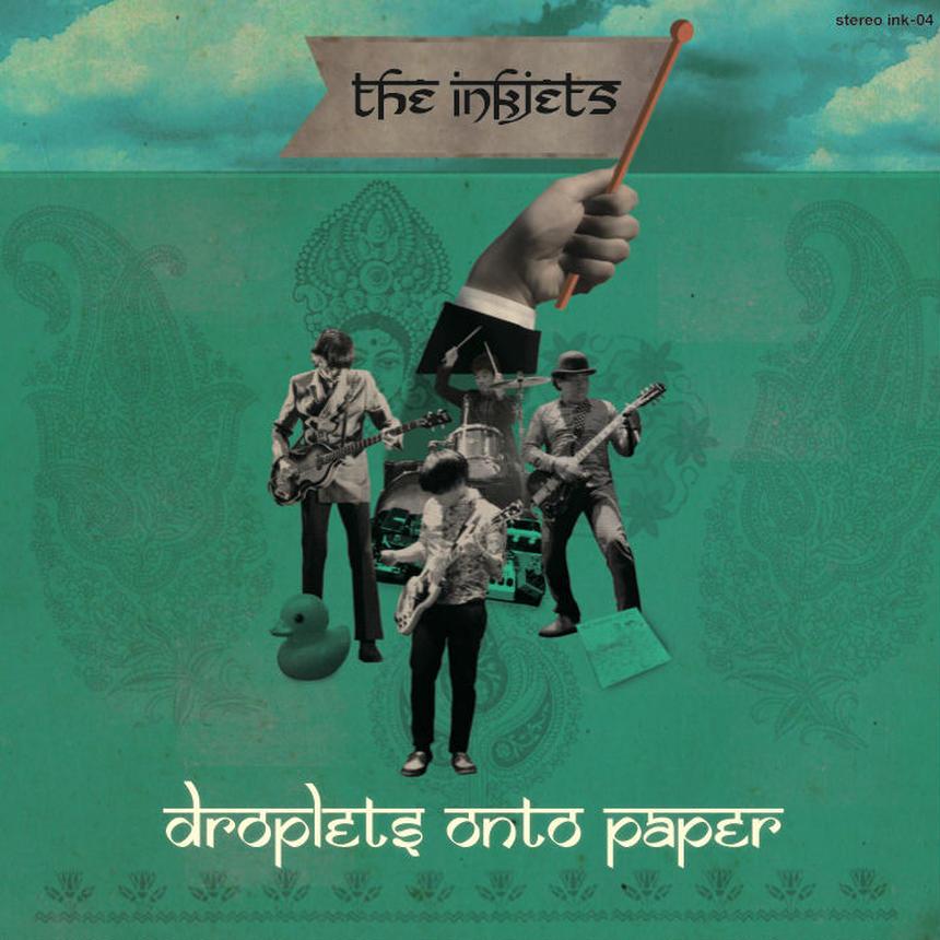 droplets onto paper - the inkjets