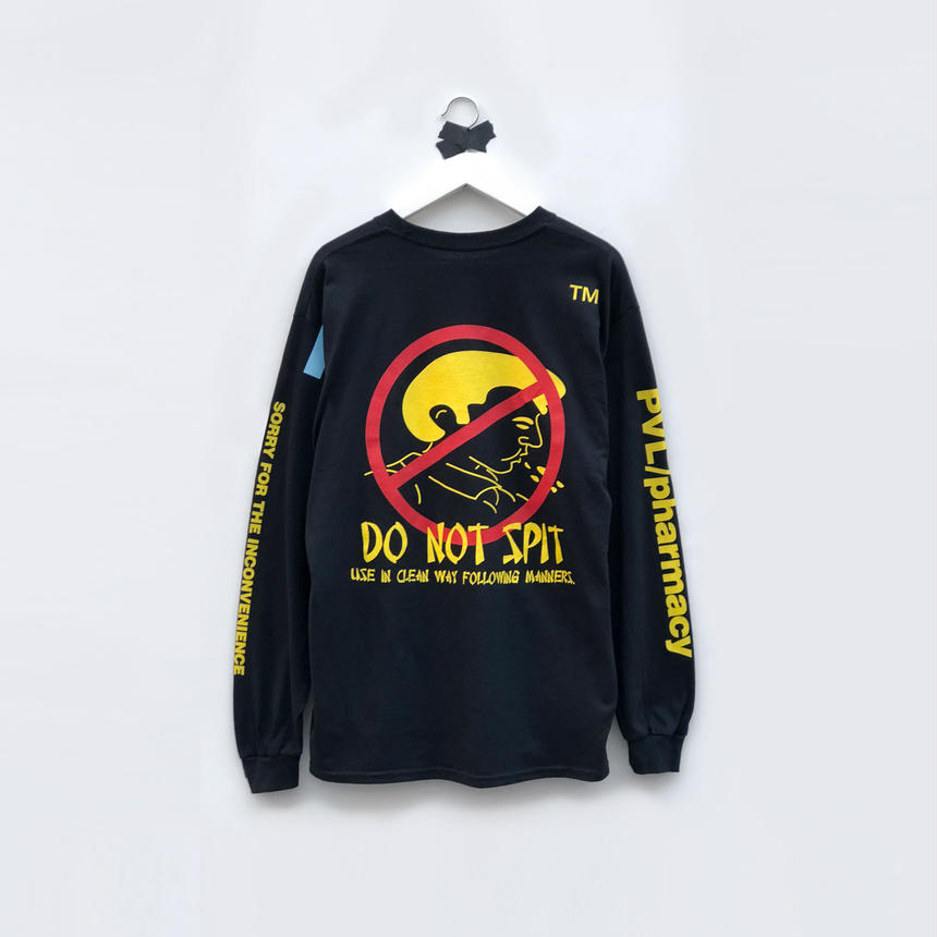 DO NOT SPIT LS T (BLACK)