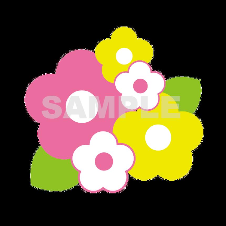 【POP素材】お花イラスト