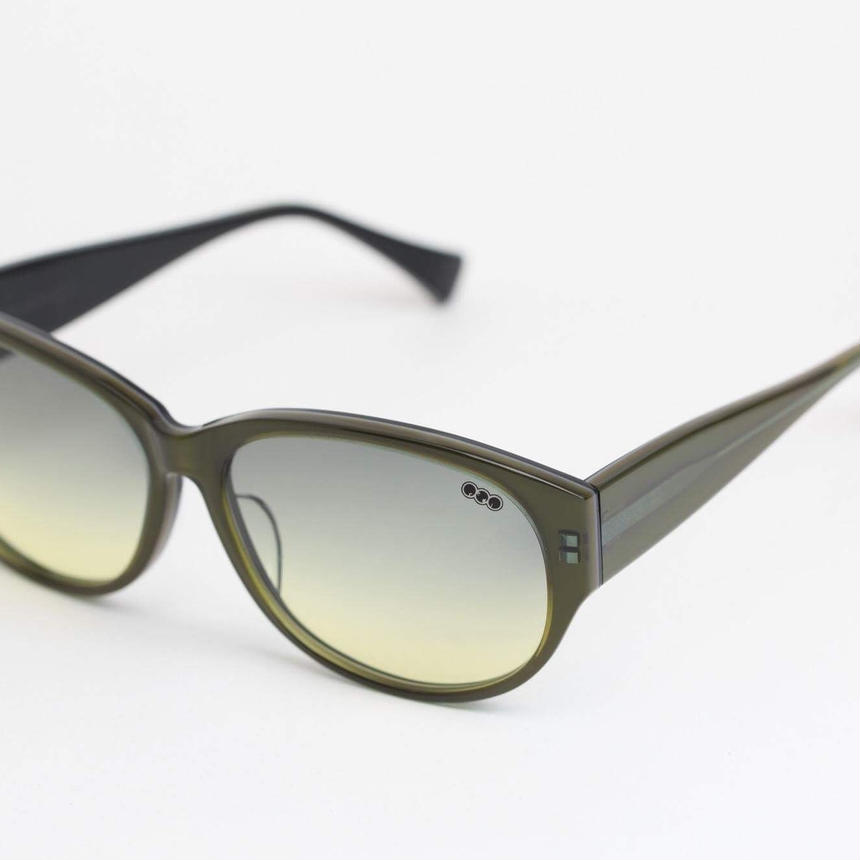 'mango' model green frame/gradation lens