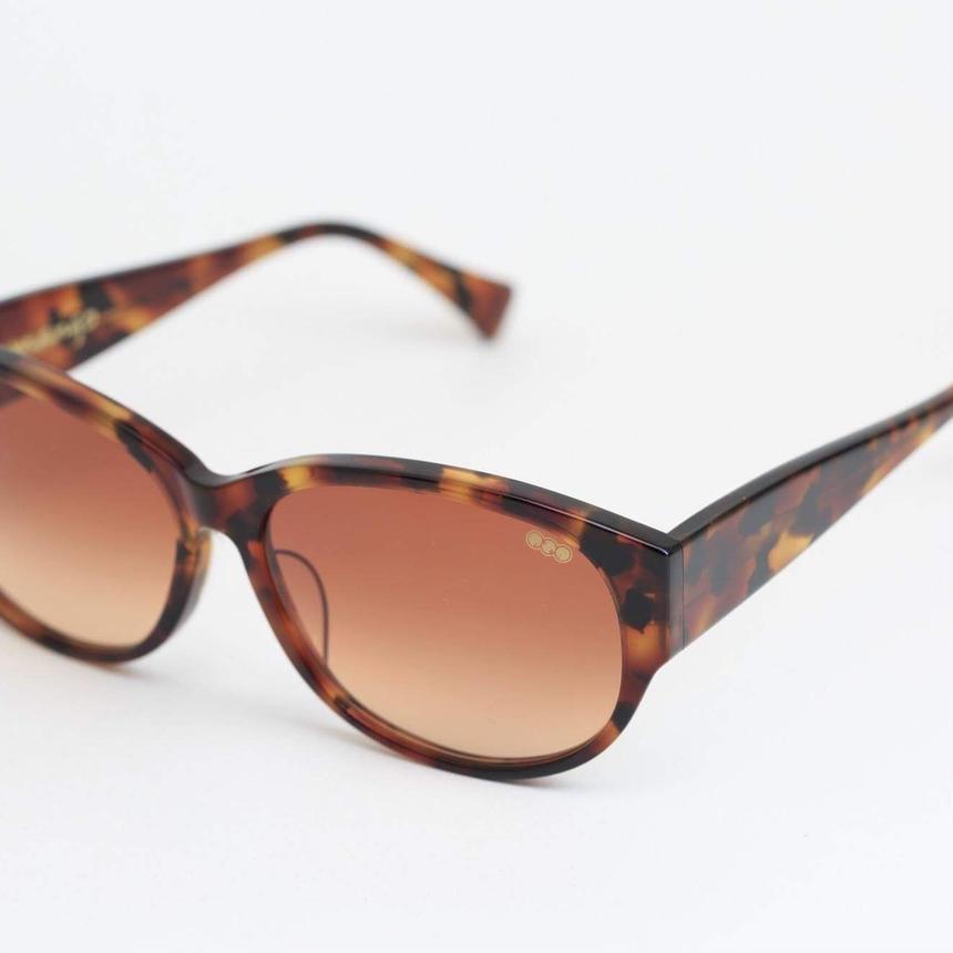 'mango' model clearbrown柄 frame/browngradation lens  のコピー