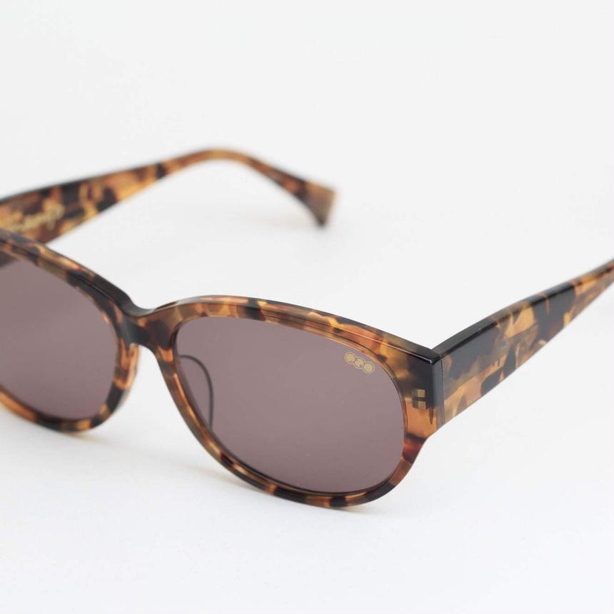 'mango' model brown 班 frame/brown lens