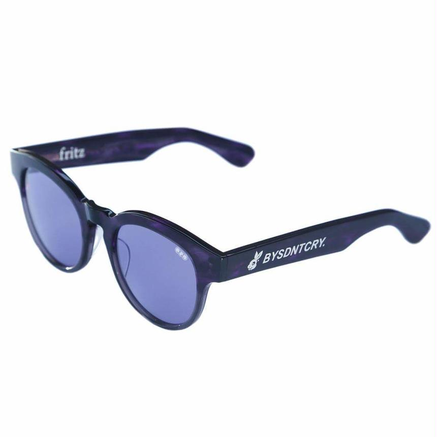 BYSDNTCRYx redi  'fritz'model 03 purple lens
