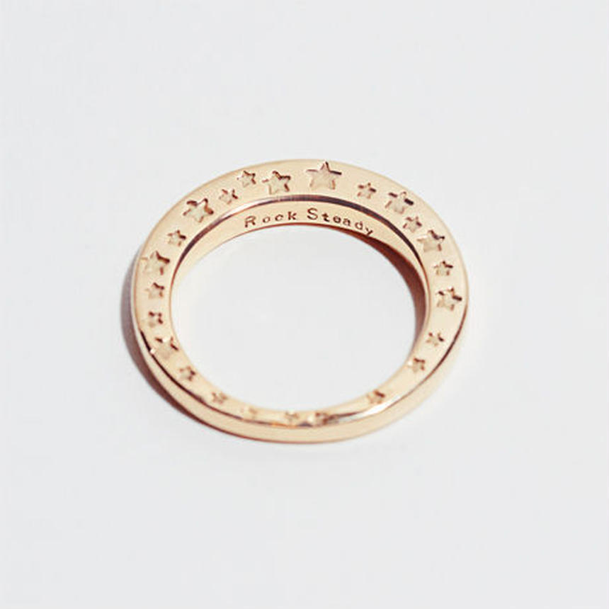 RSW SIDE STAR RING (10 GOLD)