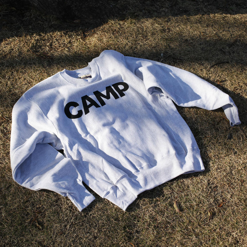 CAMP REVERSE WEAVE® CREWNECK SWEAT
