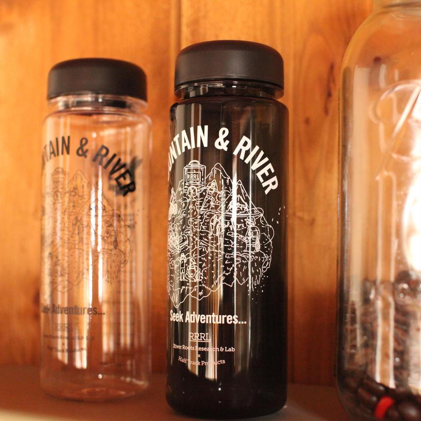 第2弾!〈 River roots research & Lab 〉×〈HALF TRACK PRODUCTS〉シングルウォールボトル 500ml