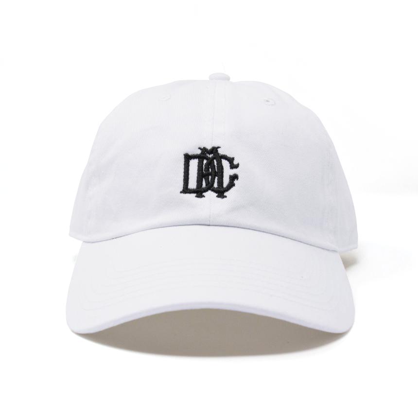 DCA LOGO CAP white&black