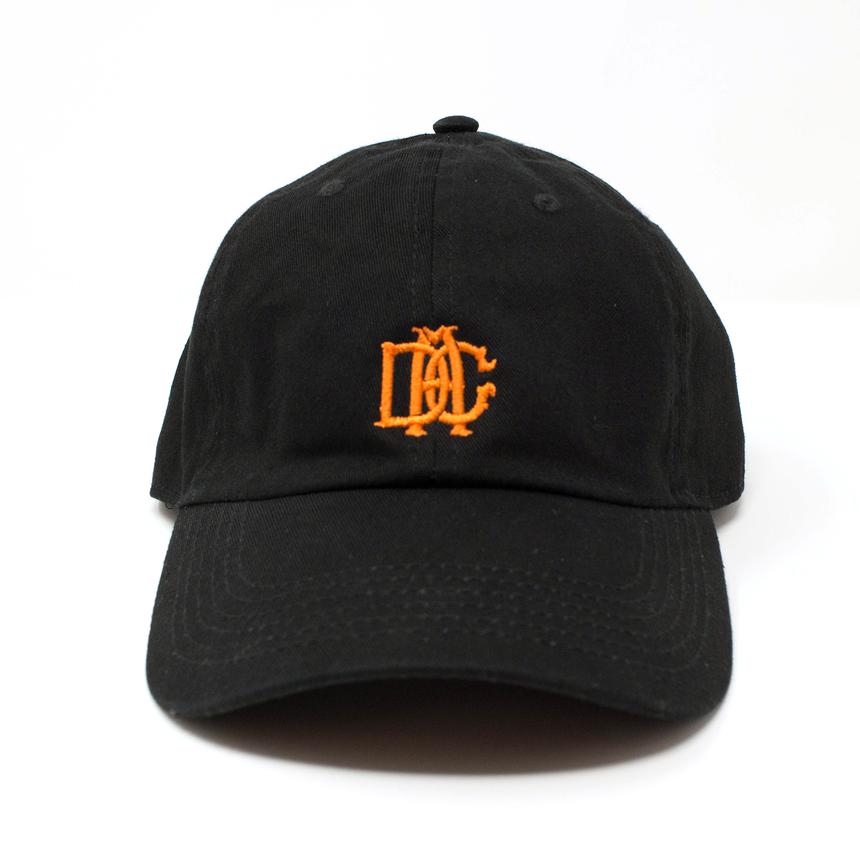 DCA LOGO CAP black&orange