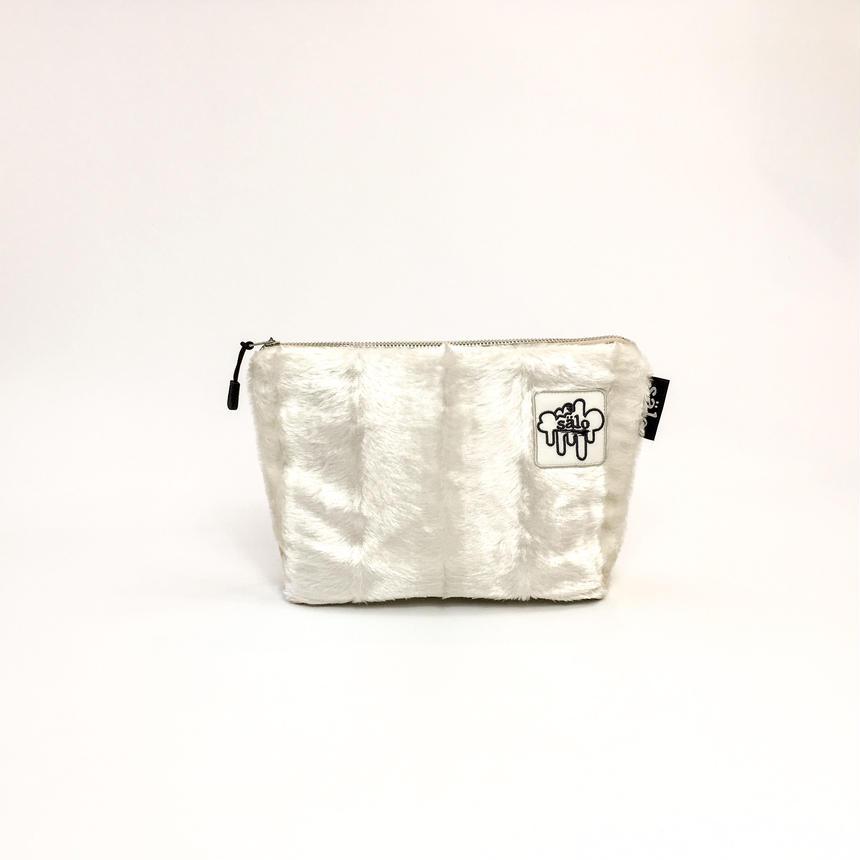 fake fur pouch
