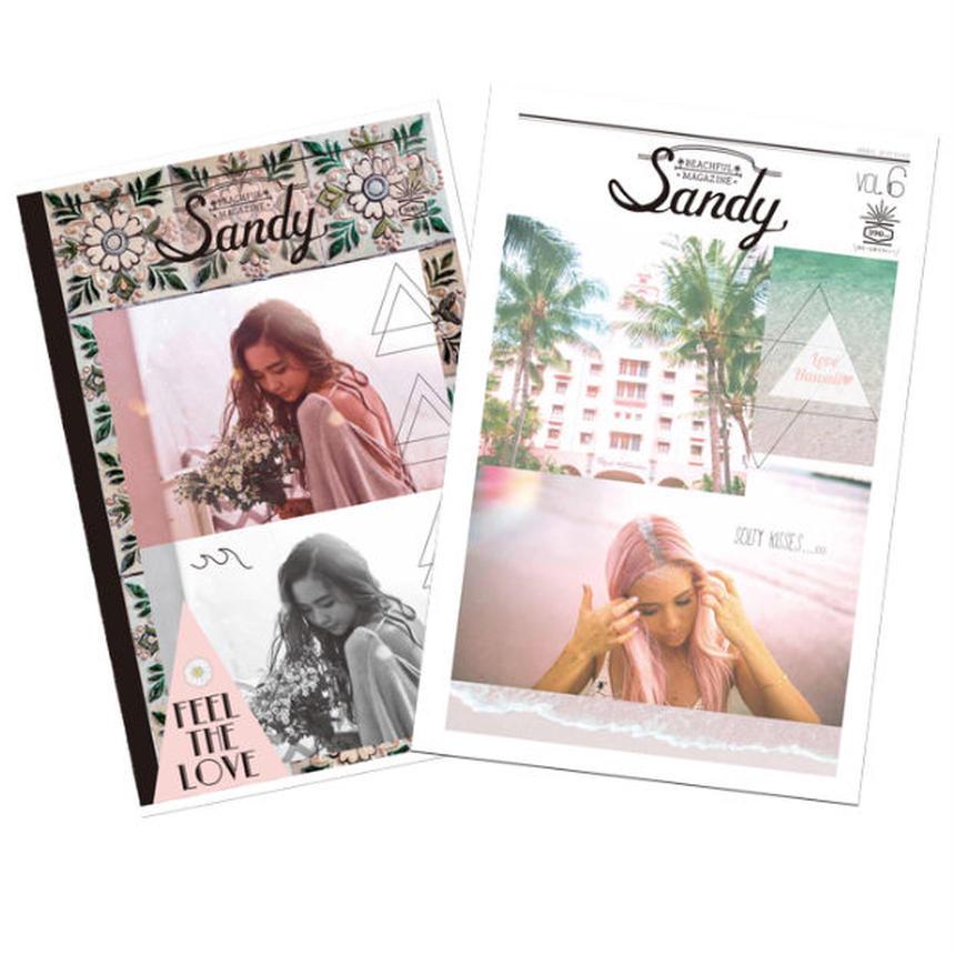 Sandy mag 新刊vol.6 & vol.5セット