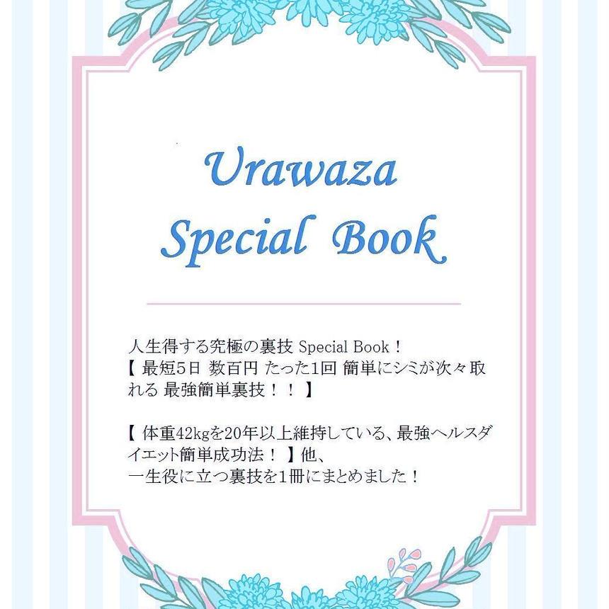 《Urawaza Special Book!》(印刷物・普通郵便)