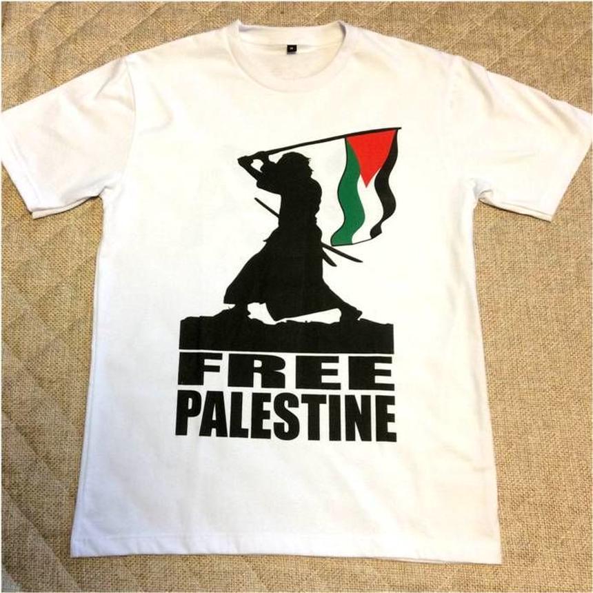 【White】 GAZA T-shirt