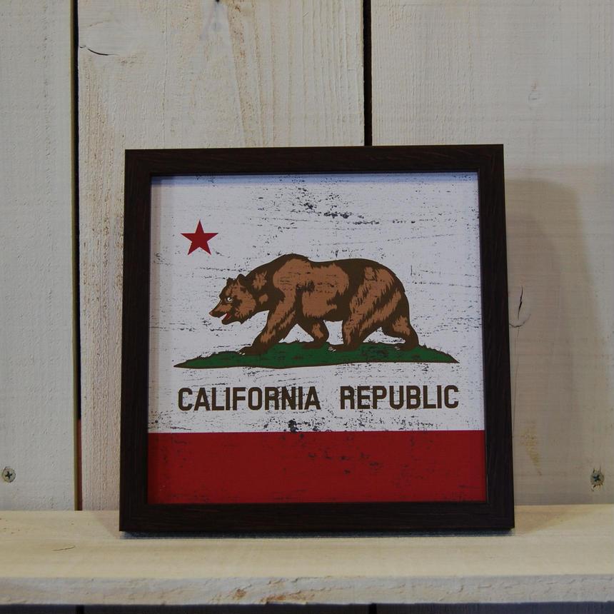 カリフォルニア アートフレーム サインフレーム