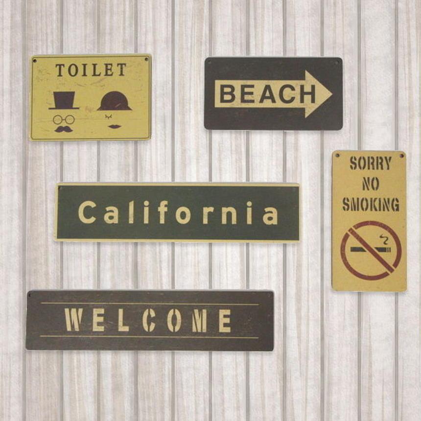 ミニサインボード California  カリフォルニア CA