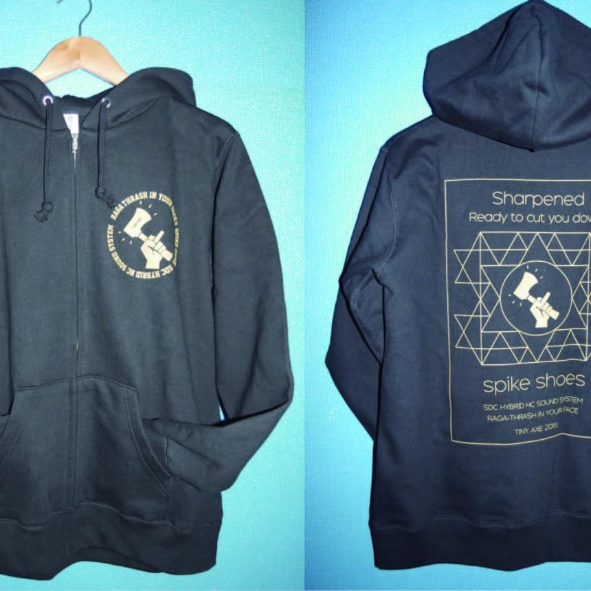 "【受注生産】""Sharpened"" Hooded zipup sweat"