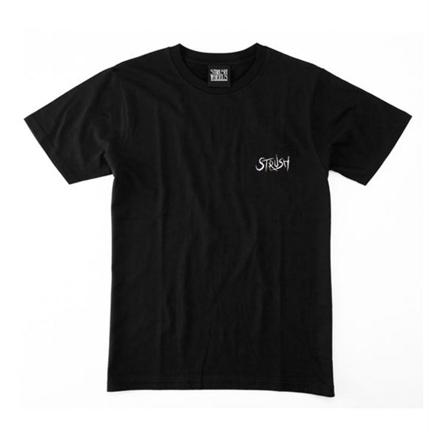 Script EMB ( 刺繍)  Tee  (Black)