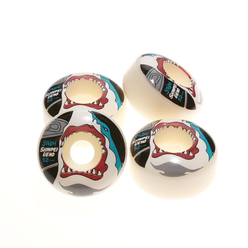 "Shinpei Ueno Model ""Shark Bite"" [Art by Y9] 52mm (White)"