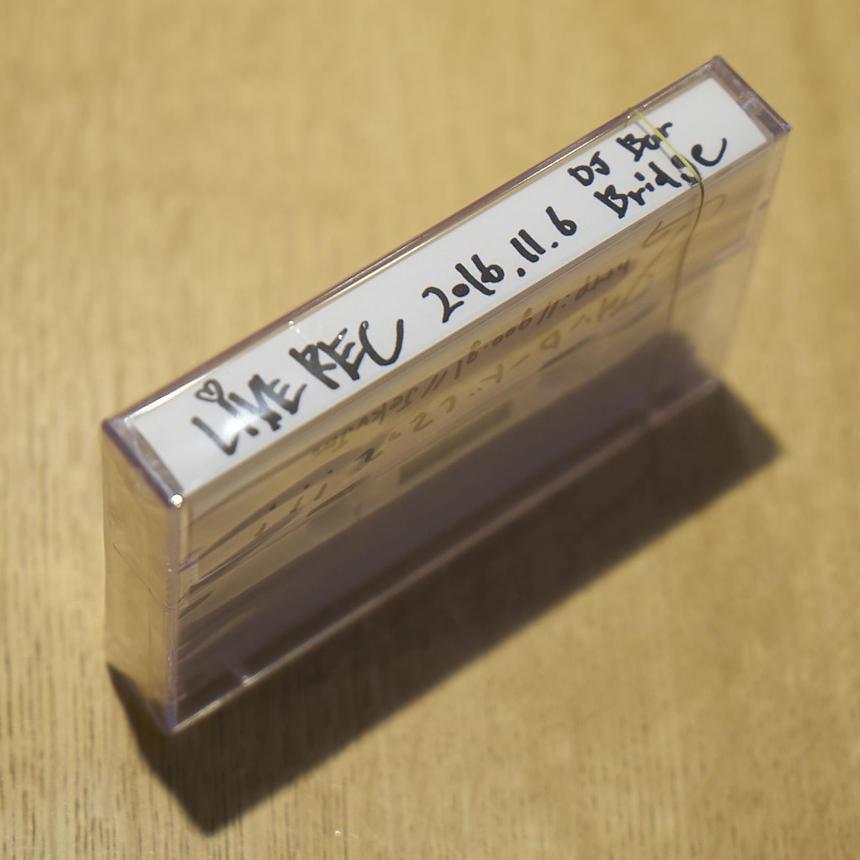 LIVEREC#1 カセットテープ|DLC付