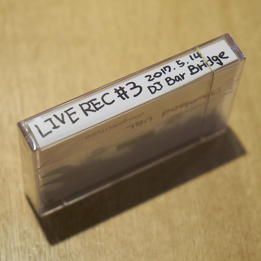 LIVEREC#3カセットテープ| DLC付