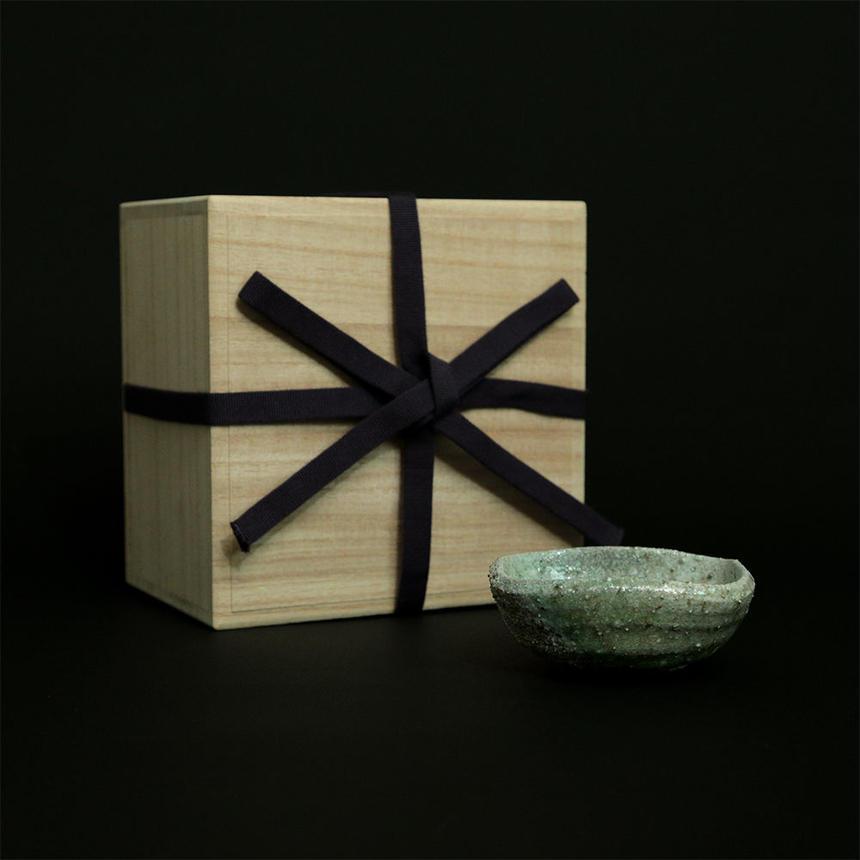 楽杜焼小鉢(らくとやき)成型:奥田章-3時間焼成-