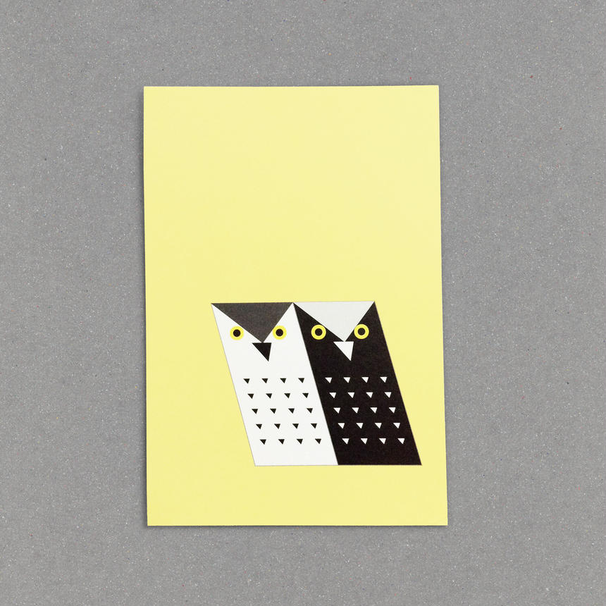 Post Card (Monochrowl-1-)