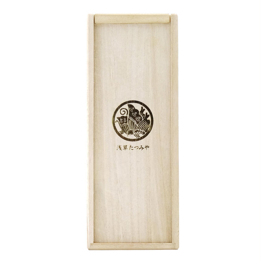 Kendon box of paulownia for mugbottle  (kiri-bako)