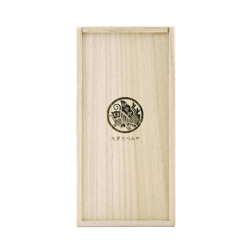 Kendon box of paulownia for tumbler (kiri-bako)