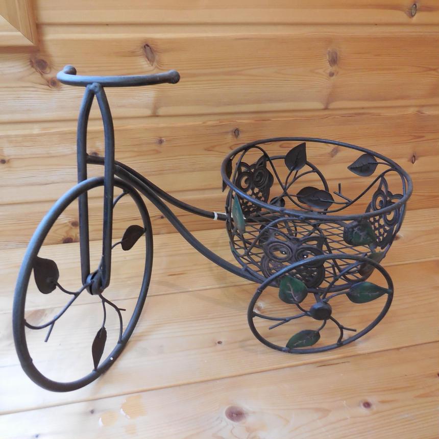アイアンのミニ自転車~ 小物入れ