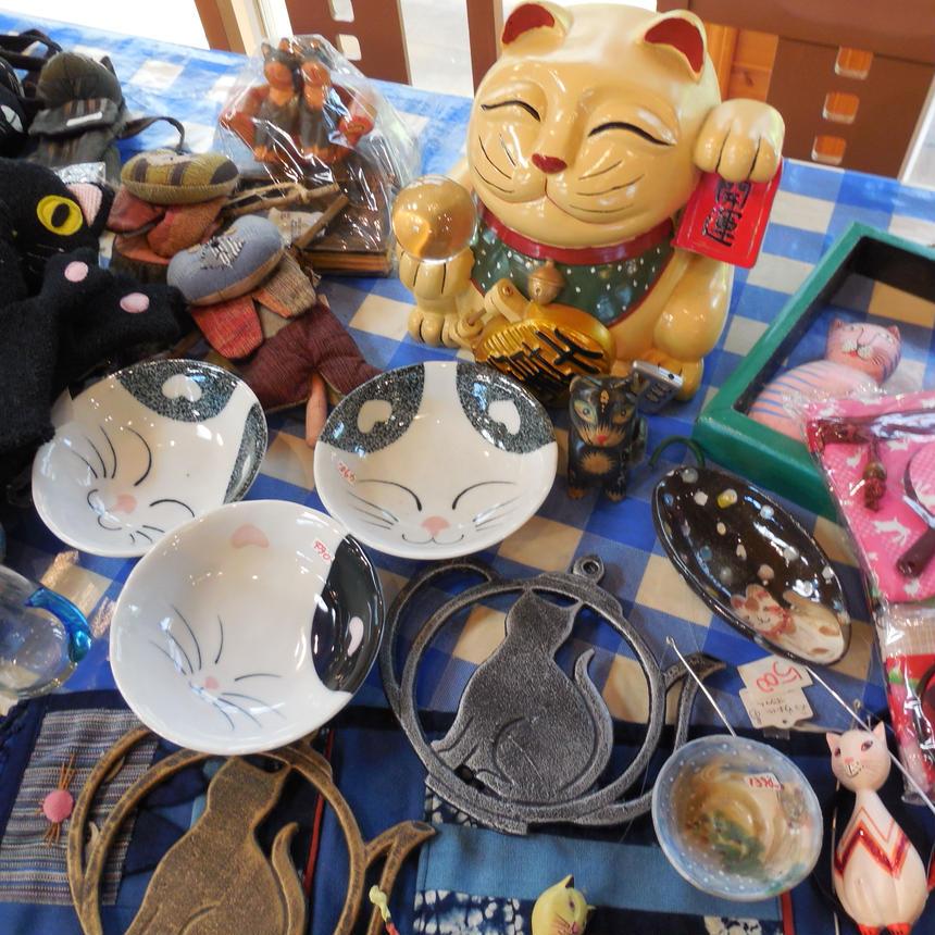 猫招きの貯金箱 猫雑貨の福袋
