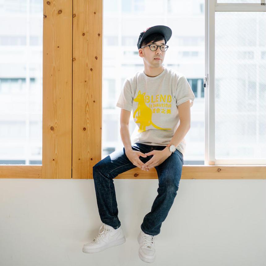 BLEND iz beautiful 混合之美 T-Shirt - Oatmeal