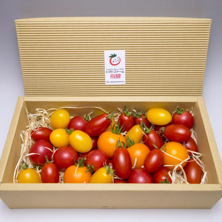 自然栽培ナチュラルミックストマト プチギフト用