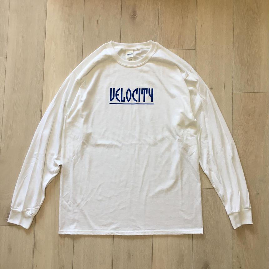 VELOCITY LOGO L/S Tシャツ