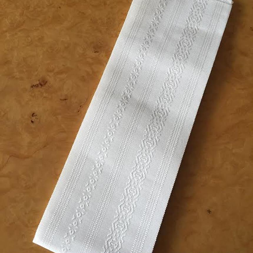 白正絹博多織伊達締め