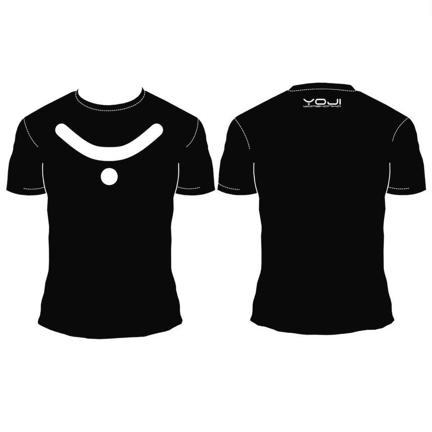 White Logo On Black T-Shirt [ Unisex ]