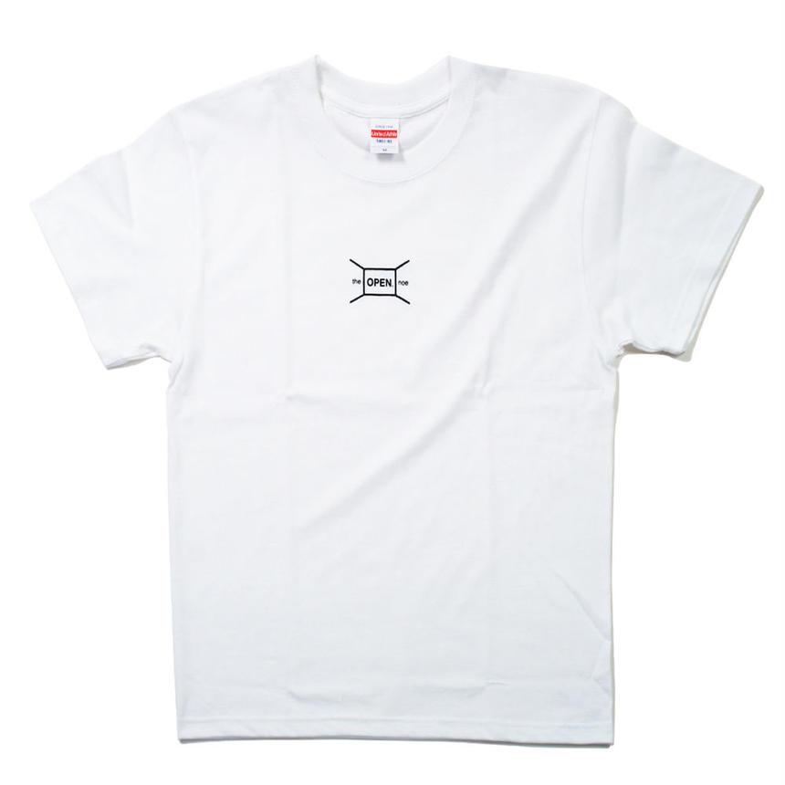 Basic. Logo Tee White