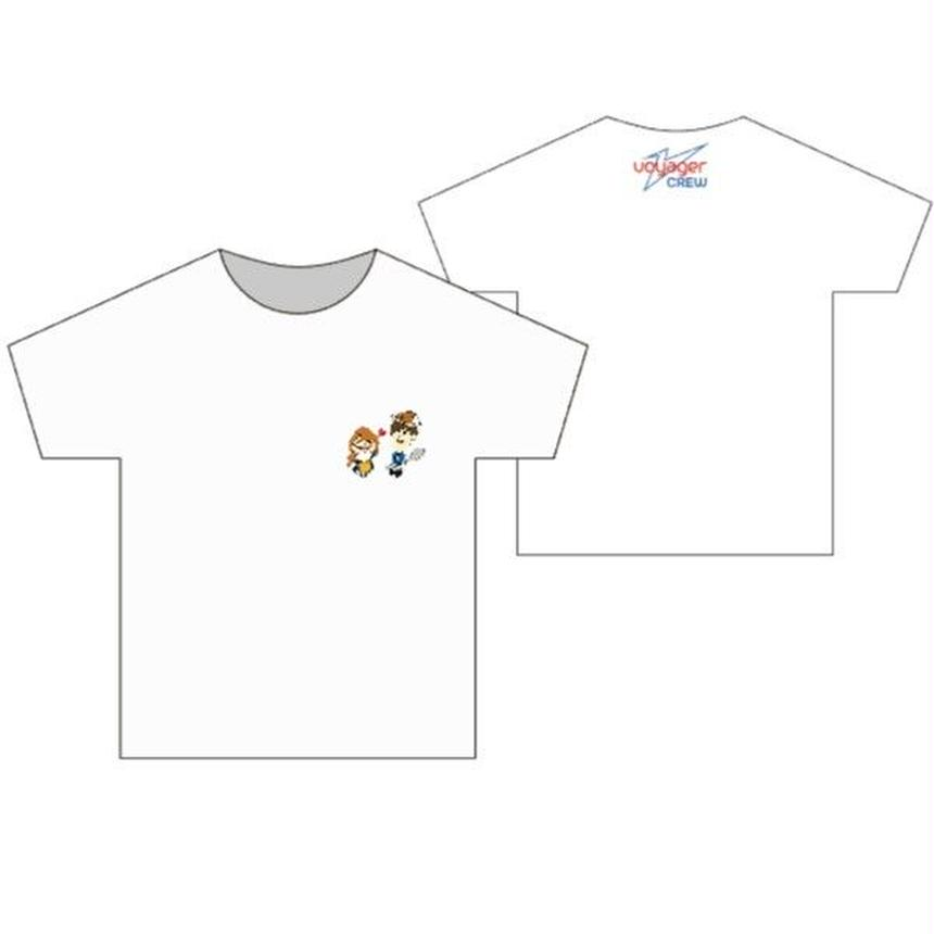 Tシャツ(White)  【キッズ】