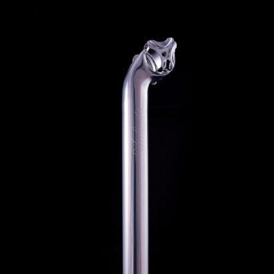 SlideAway アルミニュームシートポスト(シルバー)27.2mm