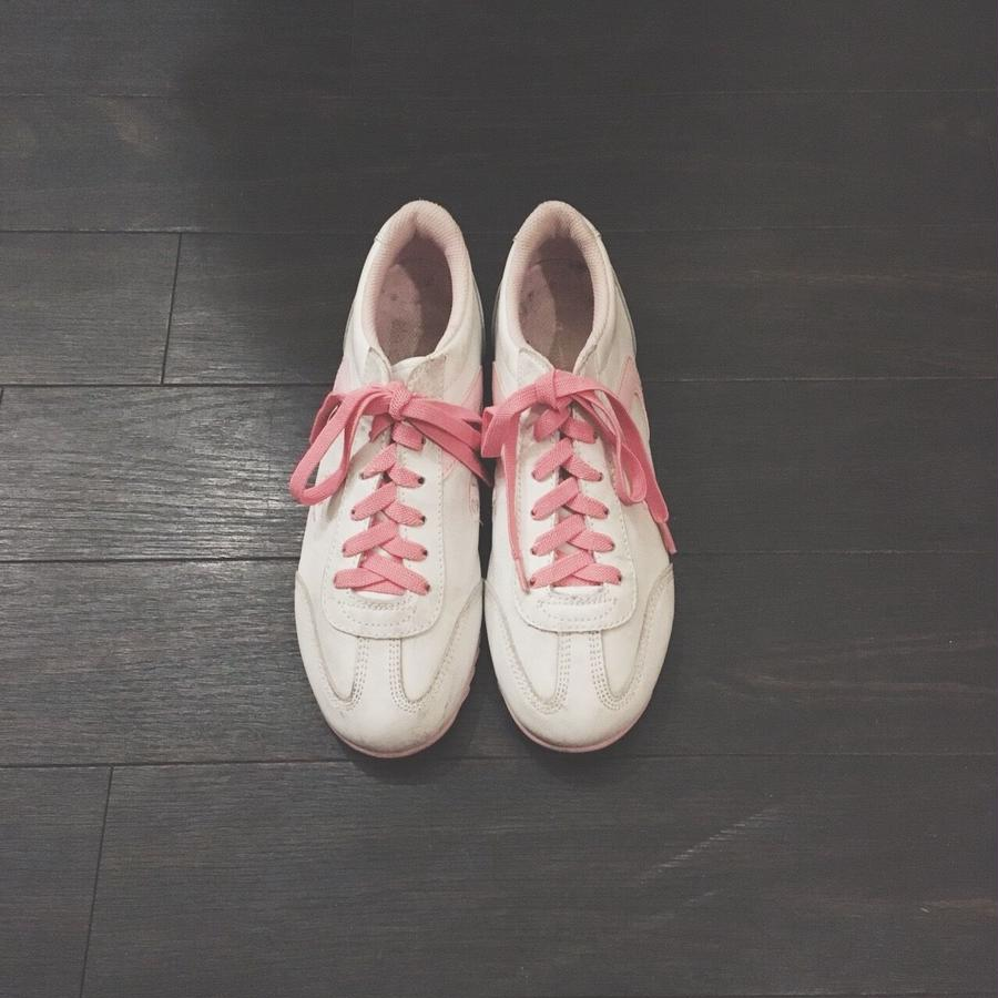 used Champion sneaker