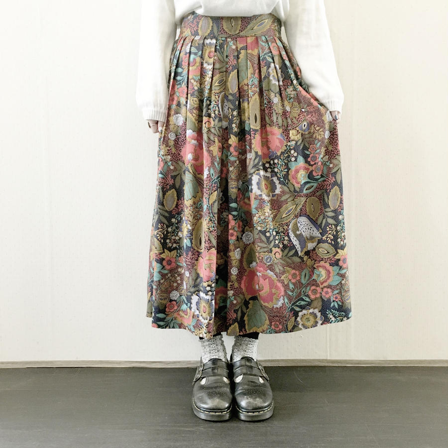used botanical skirt