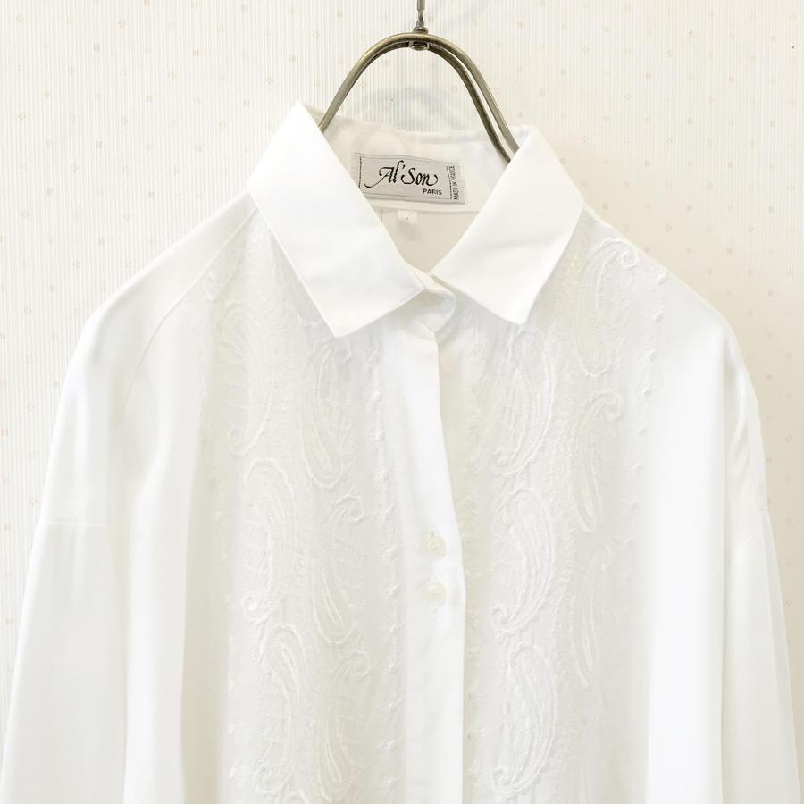 uesd white blouse