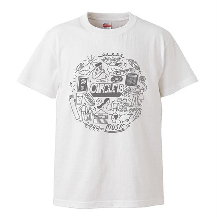 CIRCLE'18  T-Shirts (ホワイト)