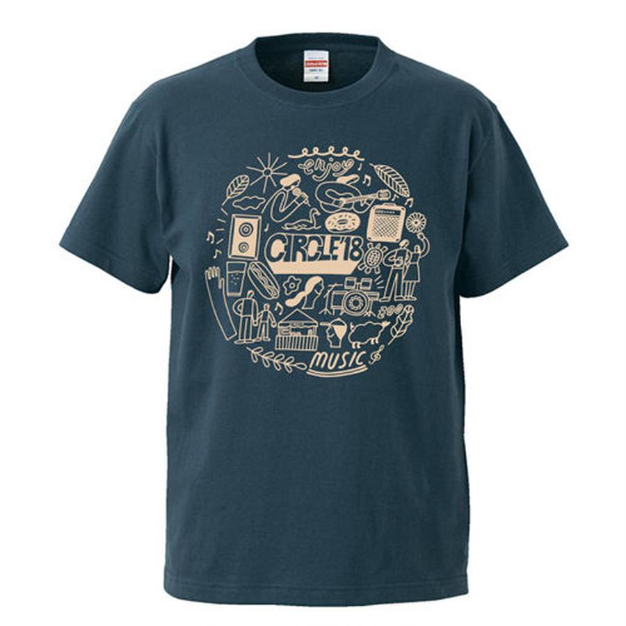 CIRCLE'18  T-Shirts (スレート)